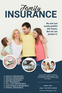 Insurance Companies Flyer Template Poster