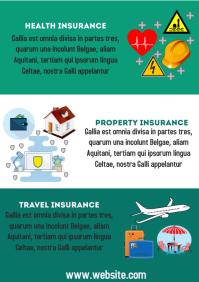 Insurance company flyer