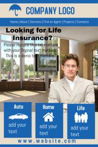 Insurance Company Website Template