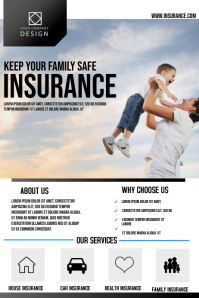 Insurance corporate poster