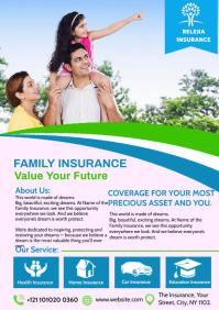 Insurance Flyer A4 template