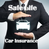 Insurance Flyers Album Omslag template