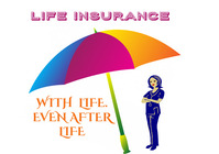 insurance logo life insurance A4 template