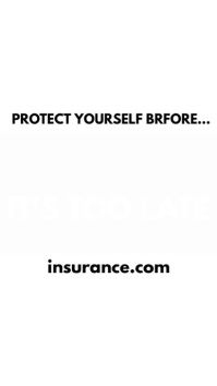 Insurance Promo Video Digital Display (9:16) template