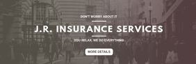 Insurance Services mail header template