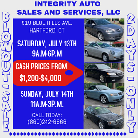 INTEGRITY AUTO BLOWOUT