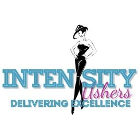 Intensity ushers logo โลโก้ template