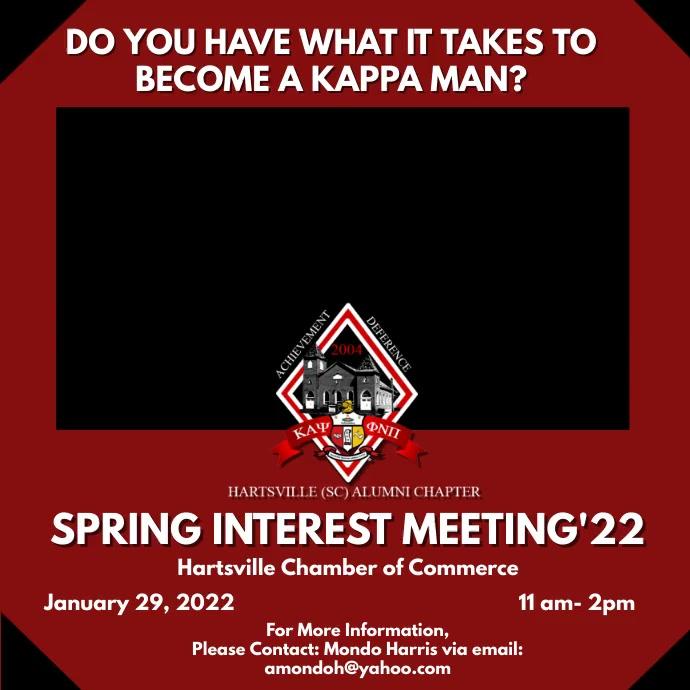 Interest Meeting Template