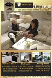 Interior Decorater Website Template