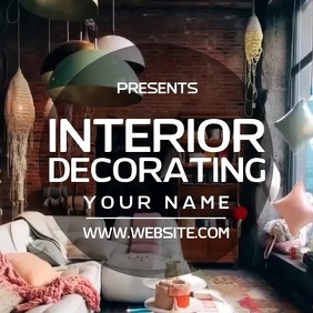 INTERIOR DECORATING AD SOCIAL MEDIA TEMPLATE