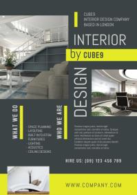 Interior Design Company Flyer