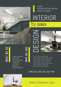 Interior Design Company Flyer