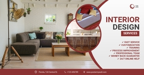 Interior Design Facebook Cover Template