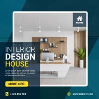 Interior design house template
