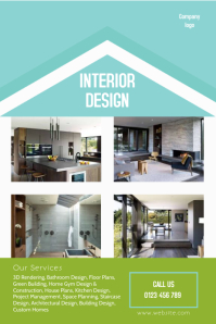 Interior Design Flyers