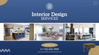 Interior Design Services Video Ad Pantalla Digital (16:9) template