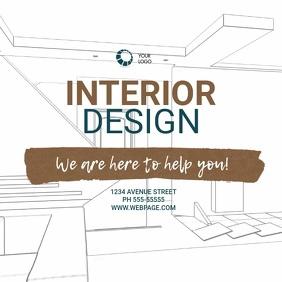 Interior Design Video Ad Template