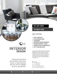 Interior Designer Flyer Template