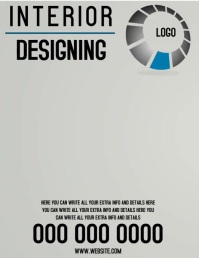INTERIOR DESIGNING FLYER TEMPLATE