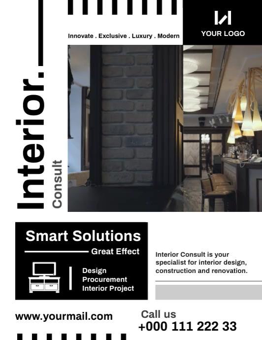 Interior Flyer template
