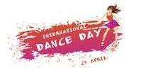 International Dance Day Capa para evento do Facebook template