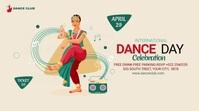 international Dance Day Publicação do Twitter template