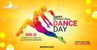 International Dance Day Template auf Facebook geteiltes Bild