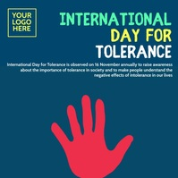 International Day for Tolerance 2020 Post template