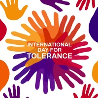 International Day for Tolerance Video Post template