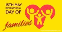 International Day of Families Facebook Ad template