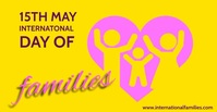 International Day of Families โฆษณา Facebook template