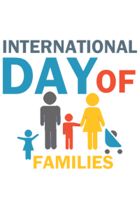 international day of families Poster template