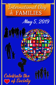 International Day of Families Poster