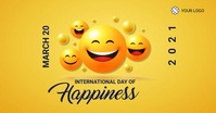 International Day Of Happiness Template Immagine condivisa di Facebook