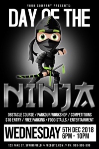 International Day Of The Ninja Poster