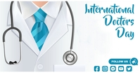 international doctors day Facebook Shared Image template