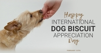 International Dog Biscuit Appreciation Day template