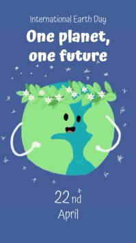 International Earth Day template
