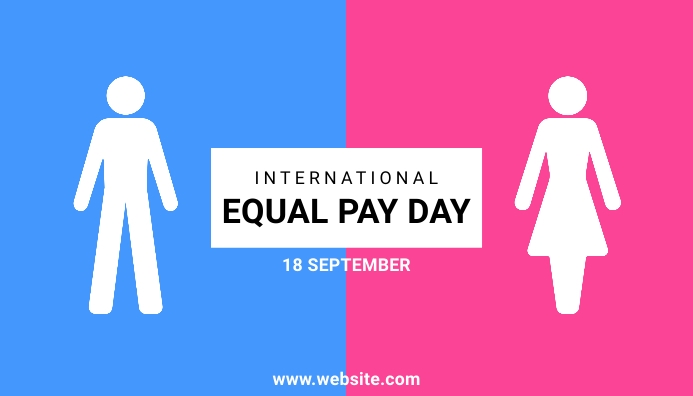 International Equal Pay Day 博客标题 template