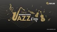 International Jazz Day Message Twitter template