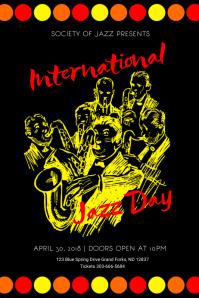 International Jazz Day Poster
