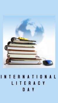 International Literacy day Instagram Story template