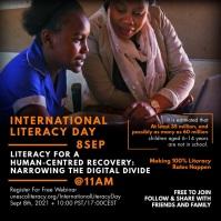 International Literacy Day Post Template
