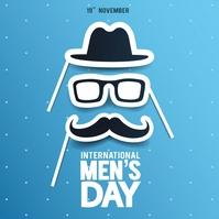 international men's day Instagram Post template