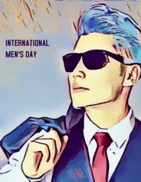 INTERNATIONAL MEN'S DAY Flyer (US Letter) template