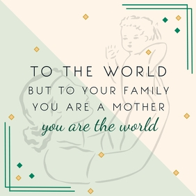 International Mother's Day Template