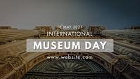 International Museums Day 博客标题 template