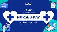 International Nurses Day Заголовок блога template