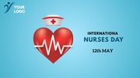 International Nurses Day Iphosti le-Twitter template