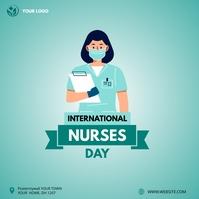 International Nurses Day instagram post Square (1:1) template